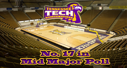 Tech women's basketball holds steady at 17th in Mid-Major Poll