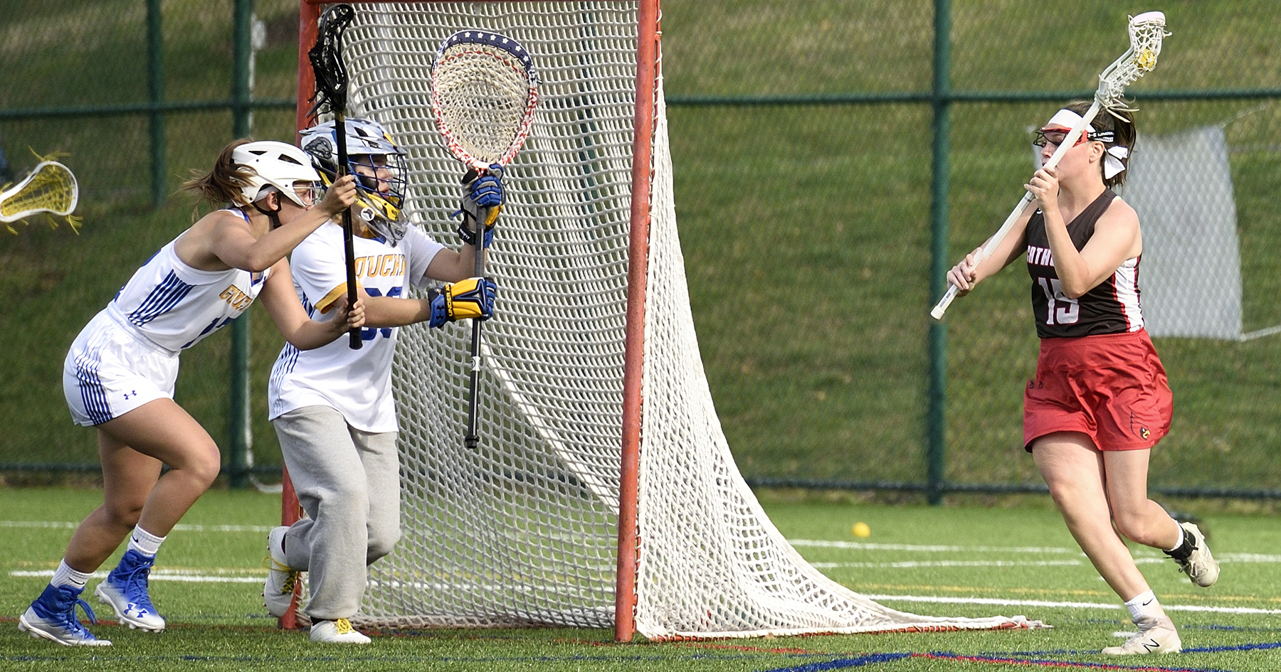 Beck's Eight Points Headline Cardinals 22-3 Win at Goucher