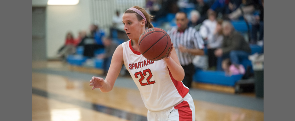 Korona's Double-Double Leads Spartans to Come From Behind Victory