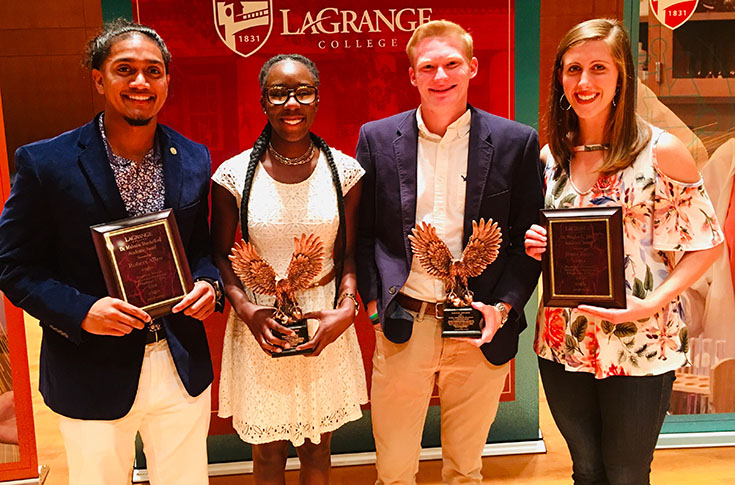 Athletic department presents annual academic awards