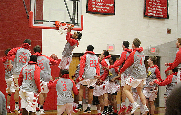 Men's Basketball Set to Host Newbury in NECC Semifinal Action Thursday