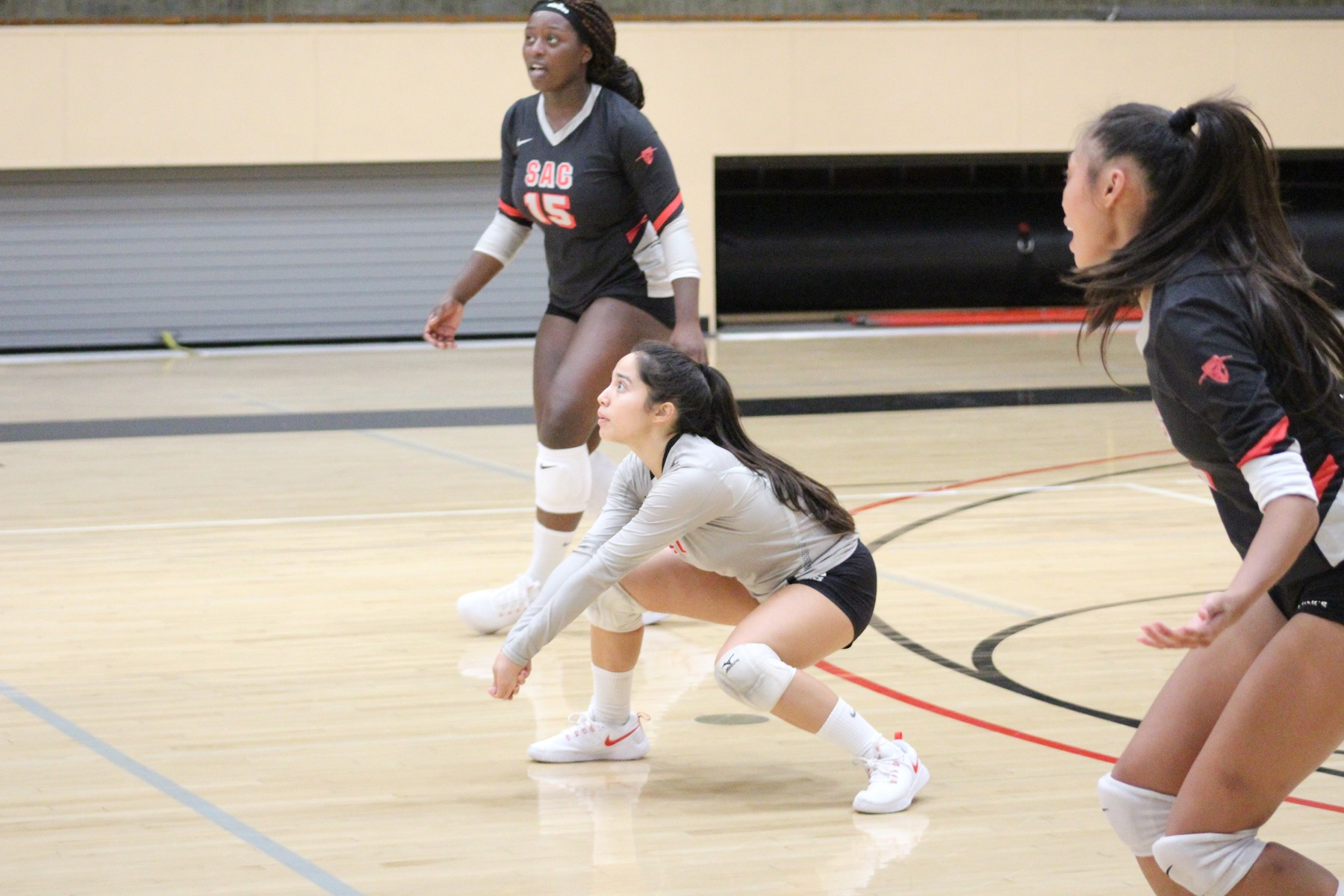 SAC Volleyball Falls to Cypress, 3-0