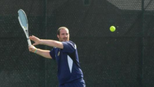 Men's Tennis Eliminated From GNAC Playoffs With 5-0 Loss To Suffolk