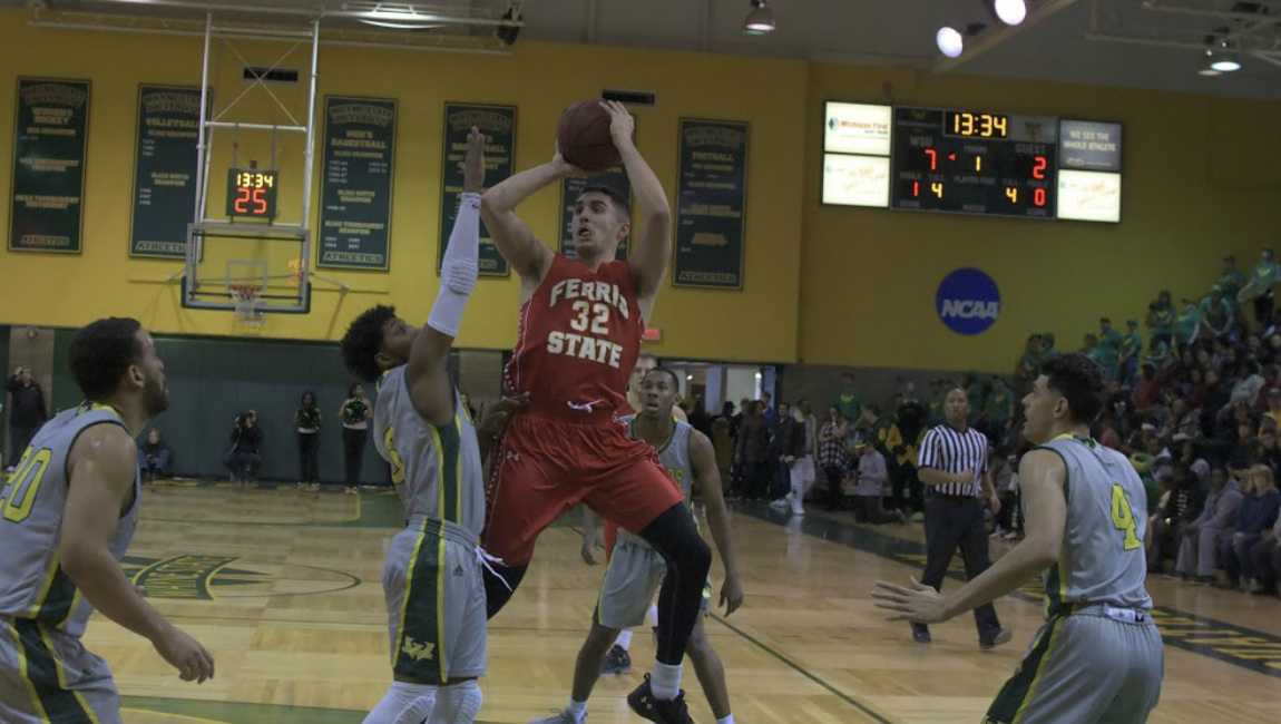 Ferris State Wins 15th-Straight Game By Pulling Away For Win At Wayne State
