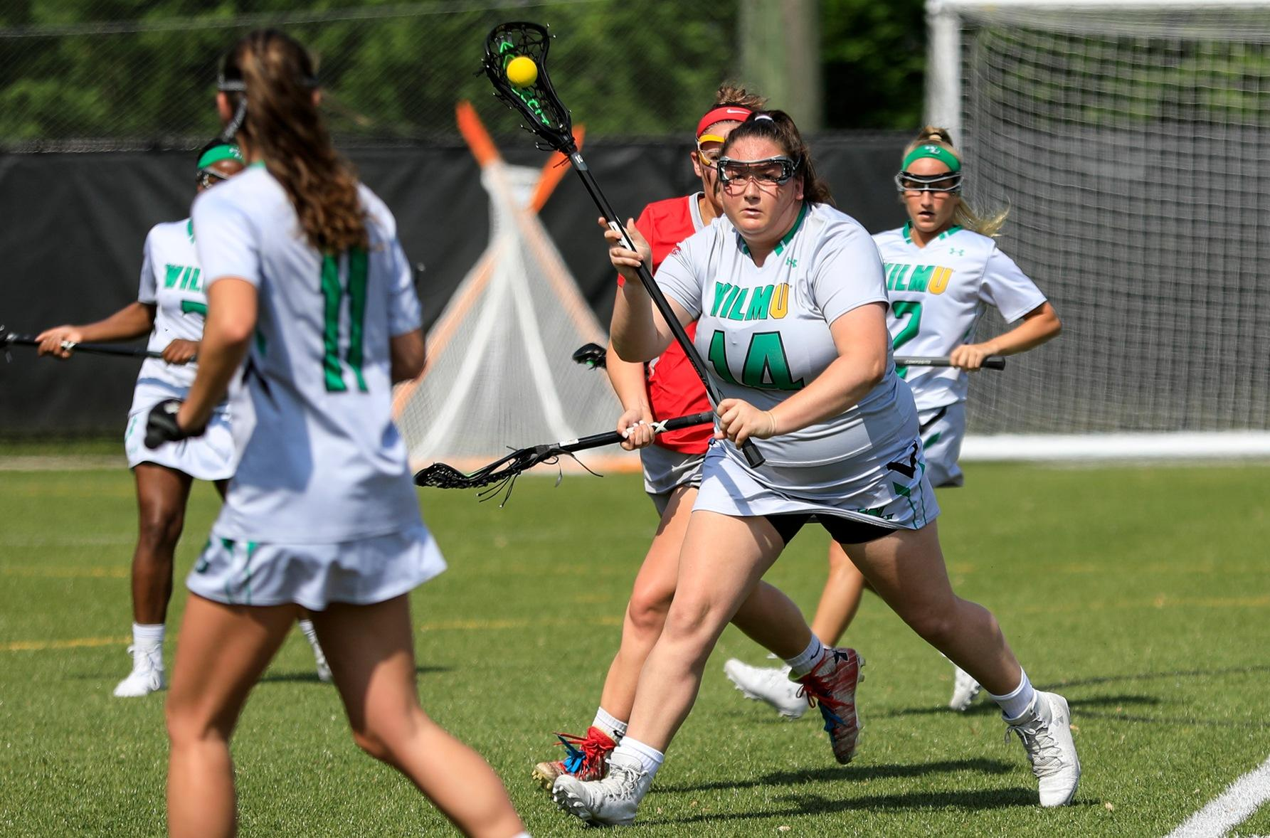 Wilmington University vs Chestnut Hill University Women's Lacrosse Game on 04/30/29 @Wilmington University's Sports Complex in Bear Delaware 