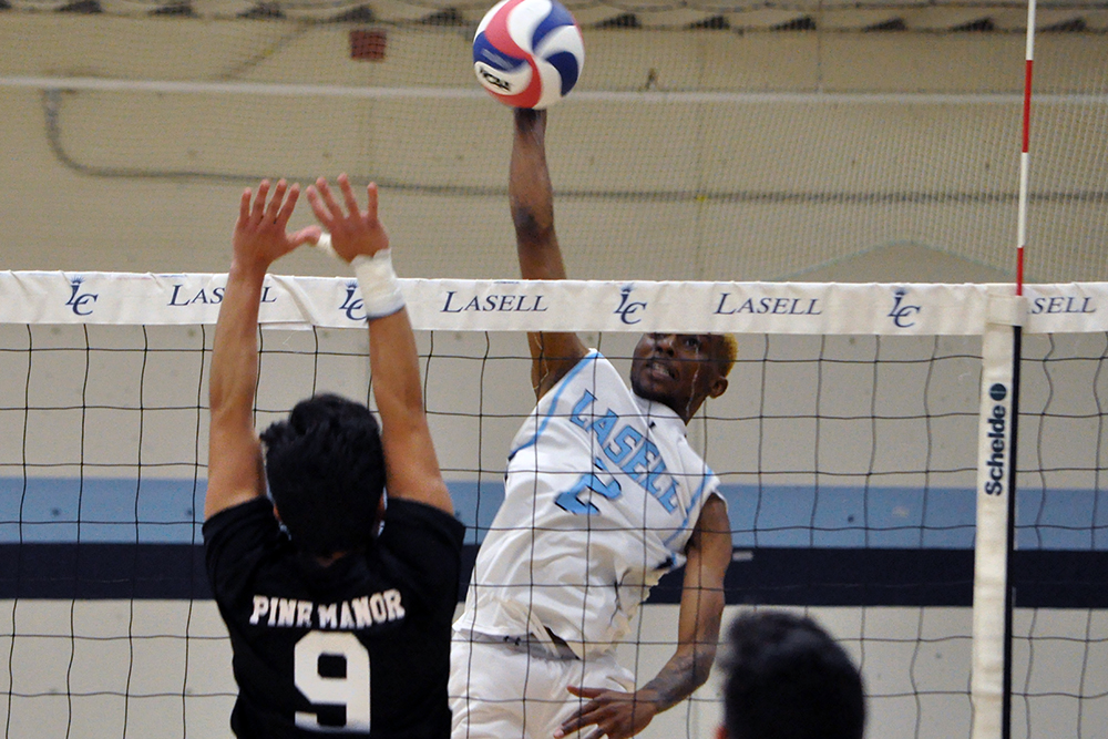 MVB: Lasell sweeps Pine Manor in home opener