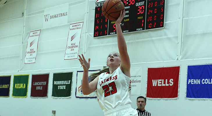Cooper, Ryan Lead Women's Basketball Past Cobleskill