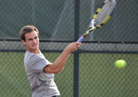 #25 UMW Men's Tennis Blanks York in CAC Semifinals
