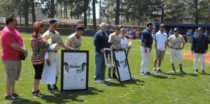 2013 N.C. Wesleyan Baseball Senior Day