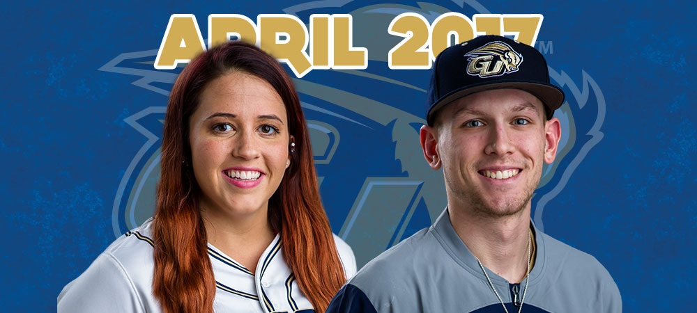 Barlow and Hayes selected as April Bison of the Month presented by GIS