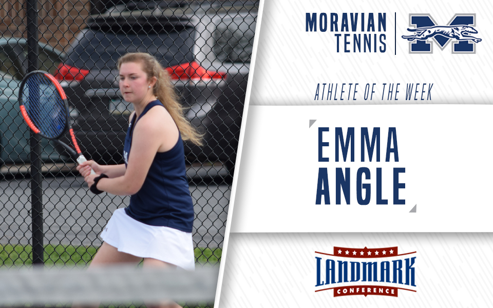 Emma Angle selected as Landmark Conference Women's Tennis Athlete of the Week