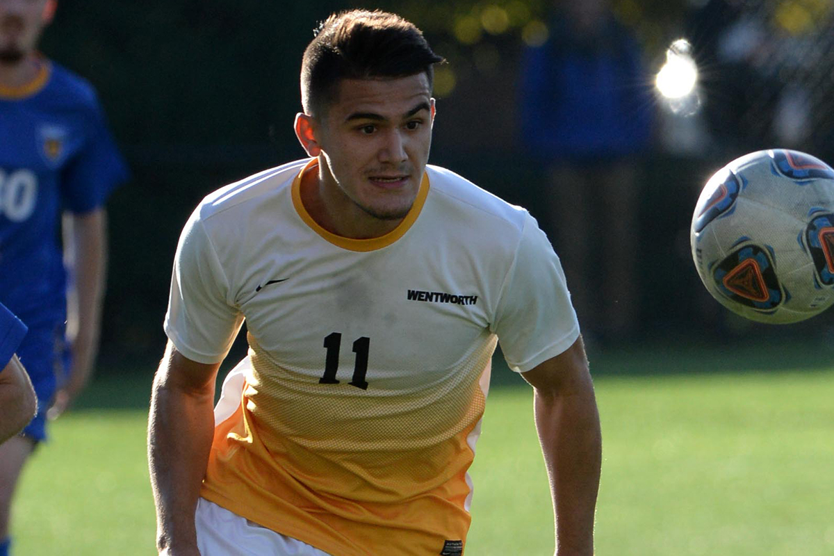 Price Provides Offense in Men's Soccer's Win Over Lesley