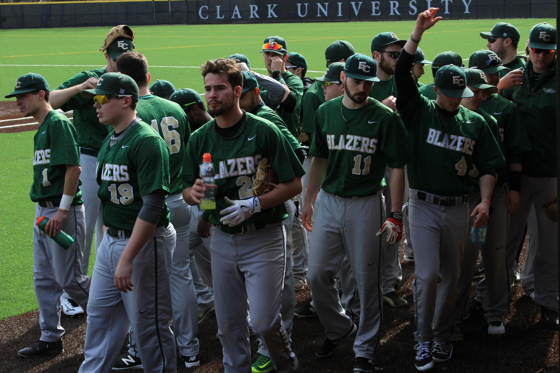 Baseball Rallies Over Lesley, Falls to Southern Vermont at NECC Championship Tournament