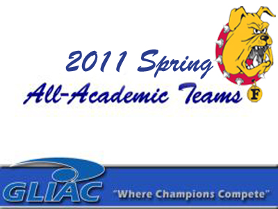 GLIAC Releases 2011 Spring All-Academic Teams