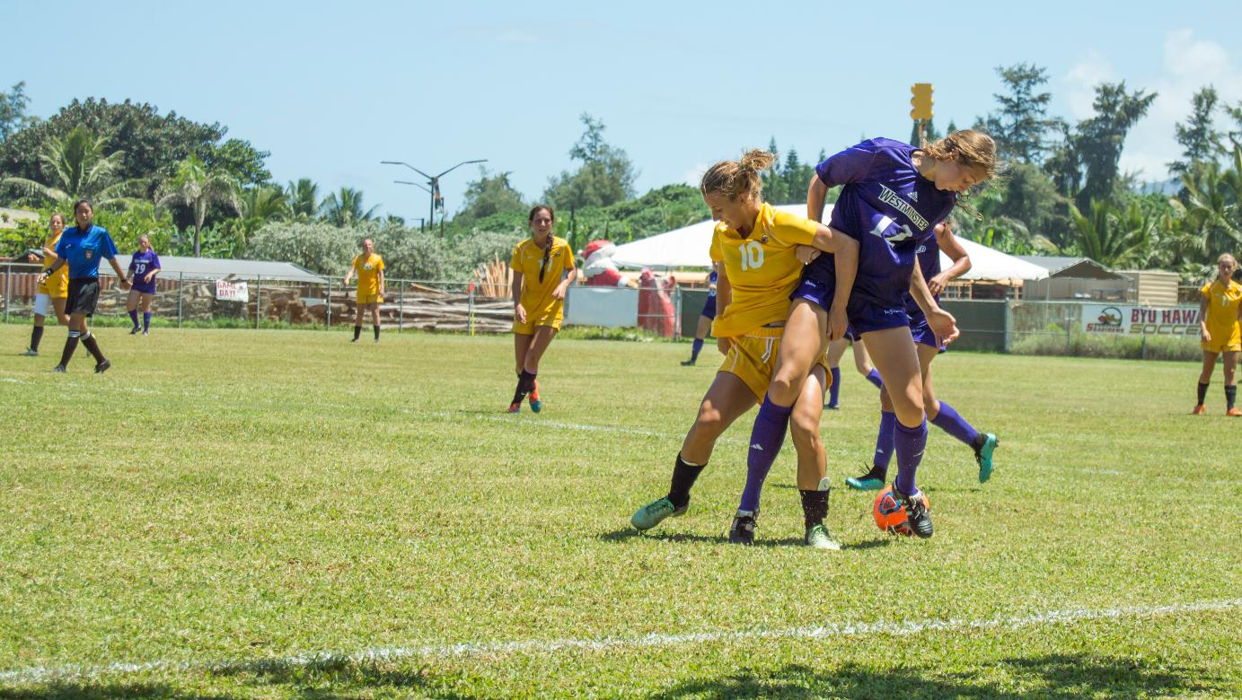 Lady Seasiders fall on late goal by Lancers