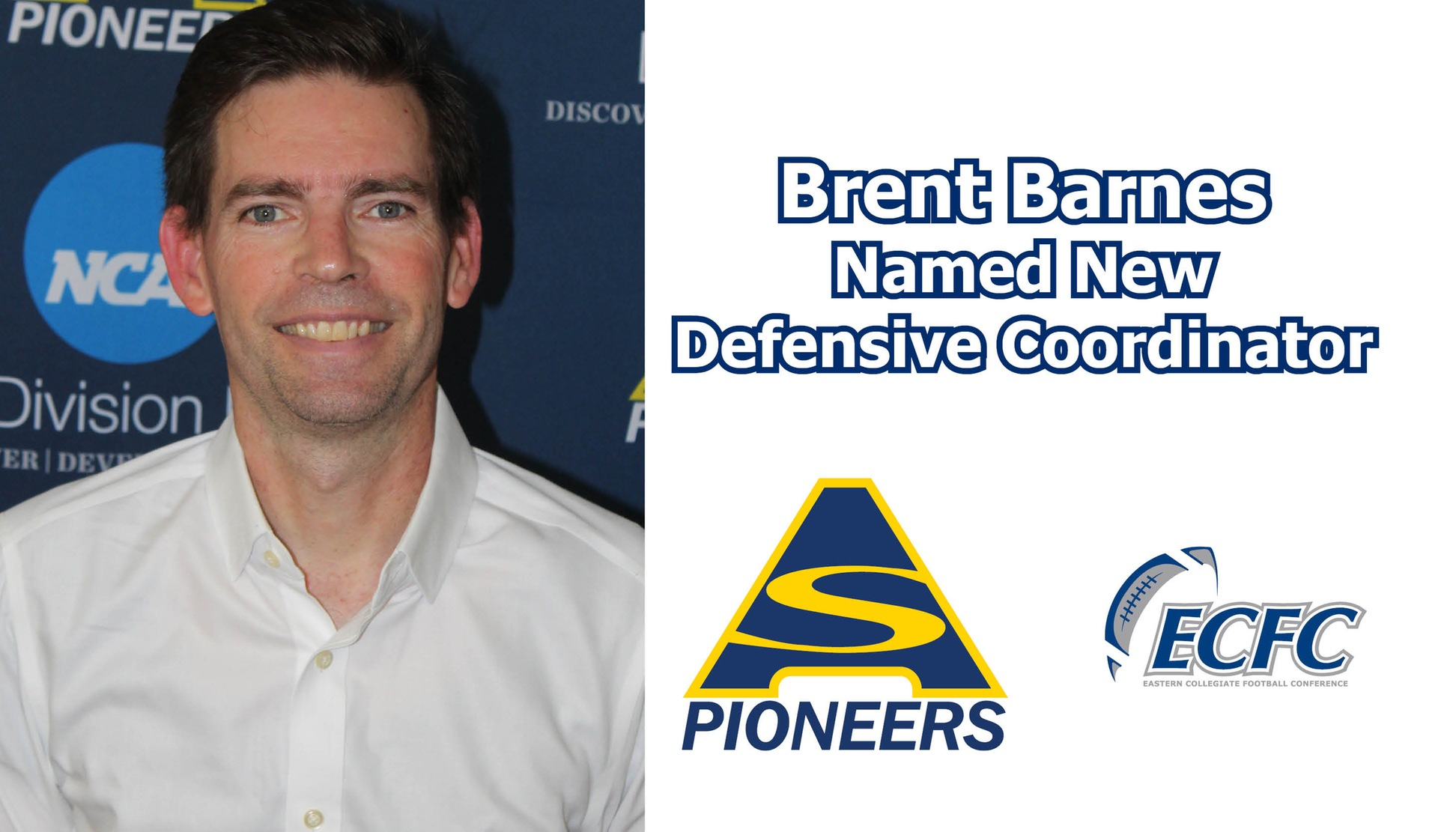 Brent Barnes Named New Defensive Coordinator