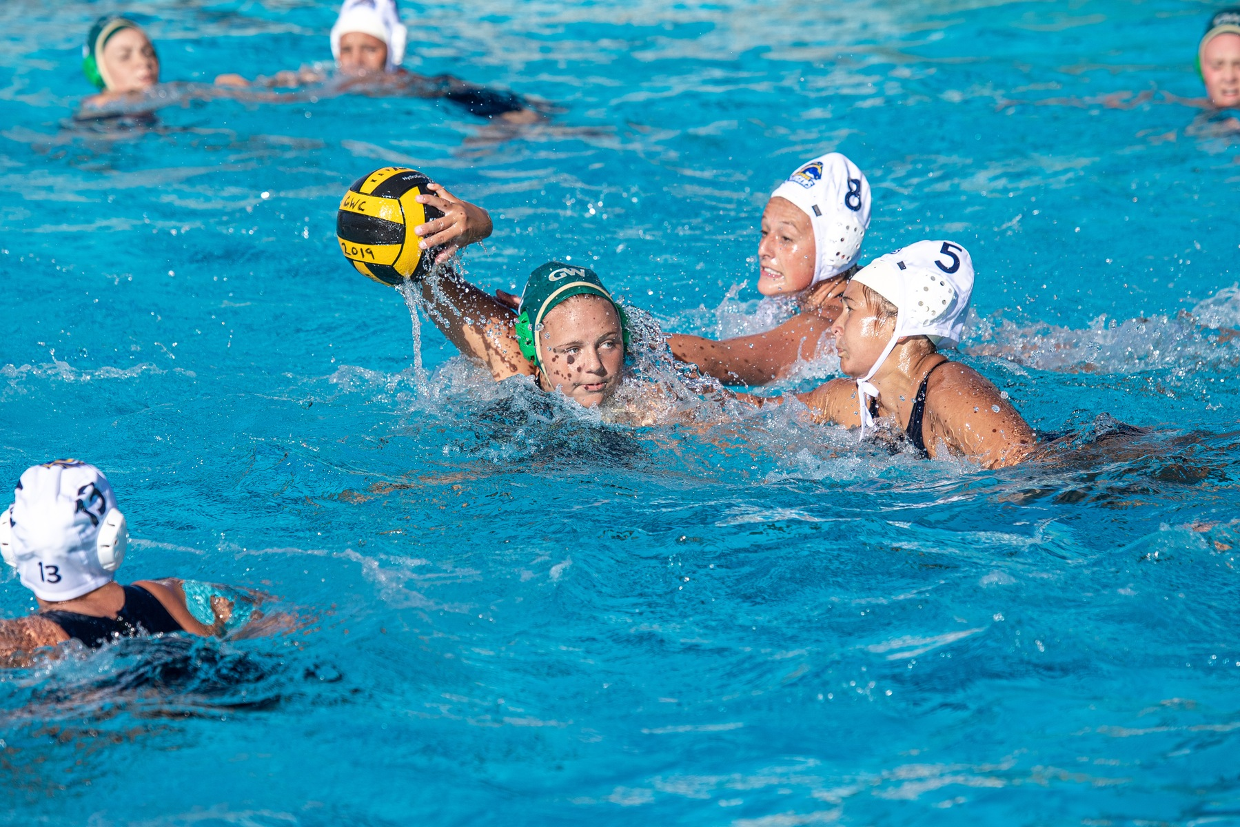 W Water Polo: Claims Third Place in OEC Championships