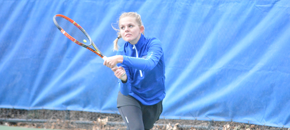 Women's Tennis Edged By Nationally-Ranked NYIT, 5-2
