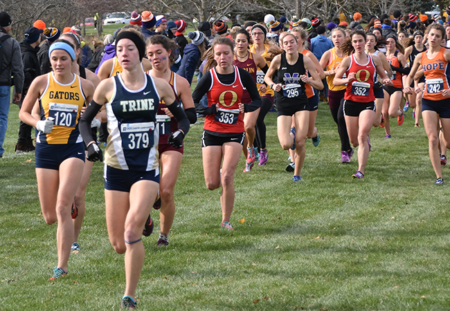 Women's Cross Country Places 12th at Great Lakes Regional