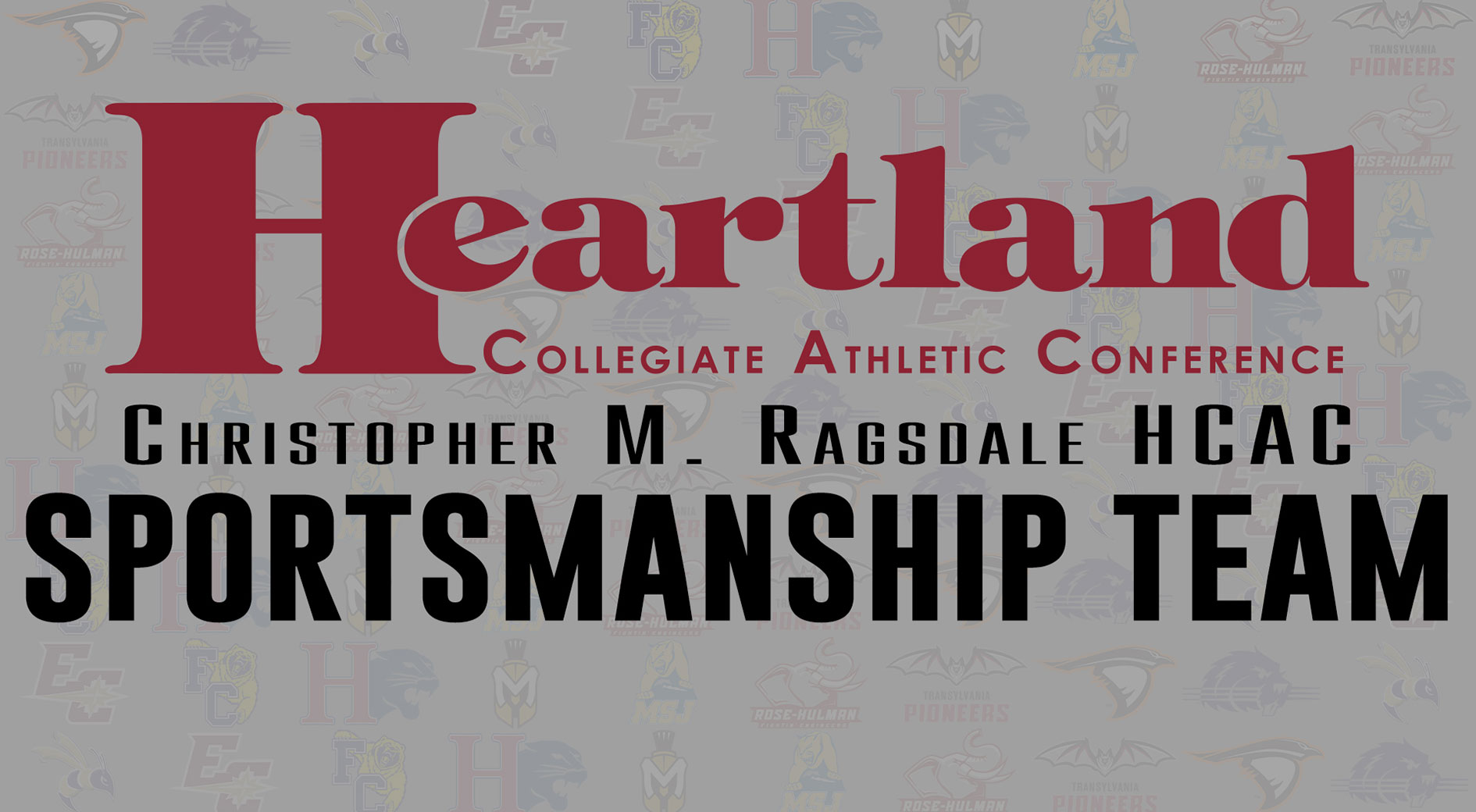 HCAC Fall 2019 Sportsmanship Team graphic