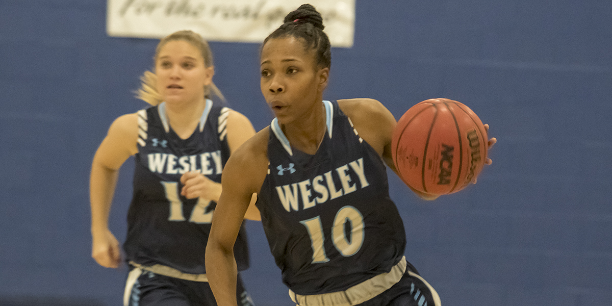 Women's Basketball dominates Valley Forge, 86-35
