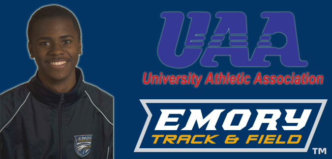 Francis Named UAA Track & Field Athlete of the Week