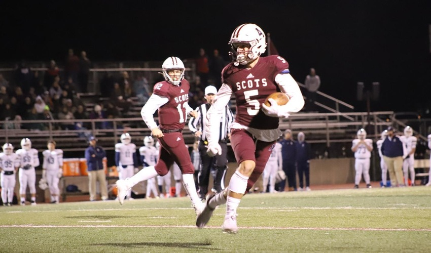 Scots Score 20 Unanswered Points to Upend Trine
