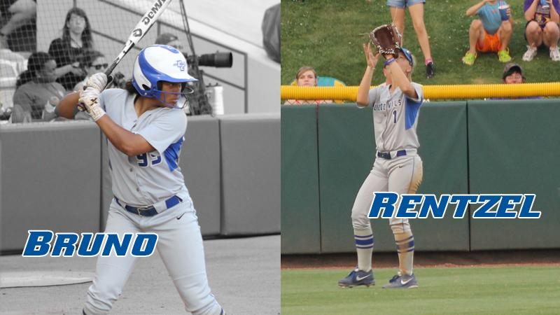 Bruno, Rentzel Named NCAA All-Regional