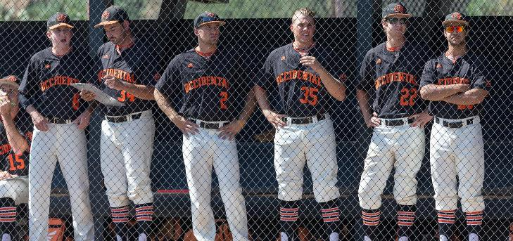 Errors Cost No. 8 Oxy at No. 18 Cal Lu in Game 2
