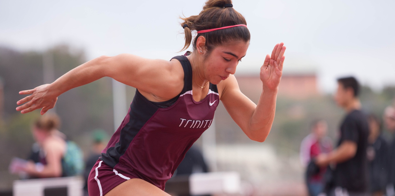 Andy Garza, Trinity University, Women's Track Athlete of the Week (Week 7)