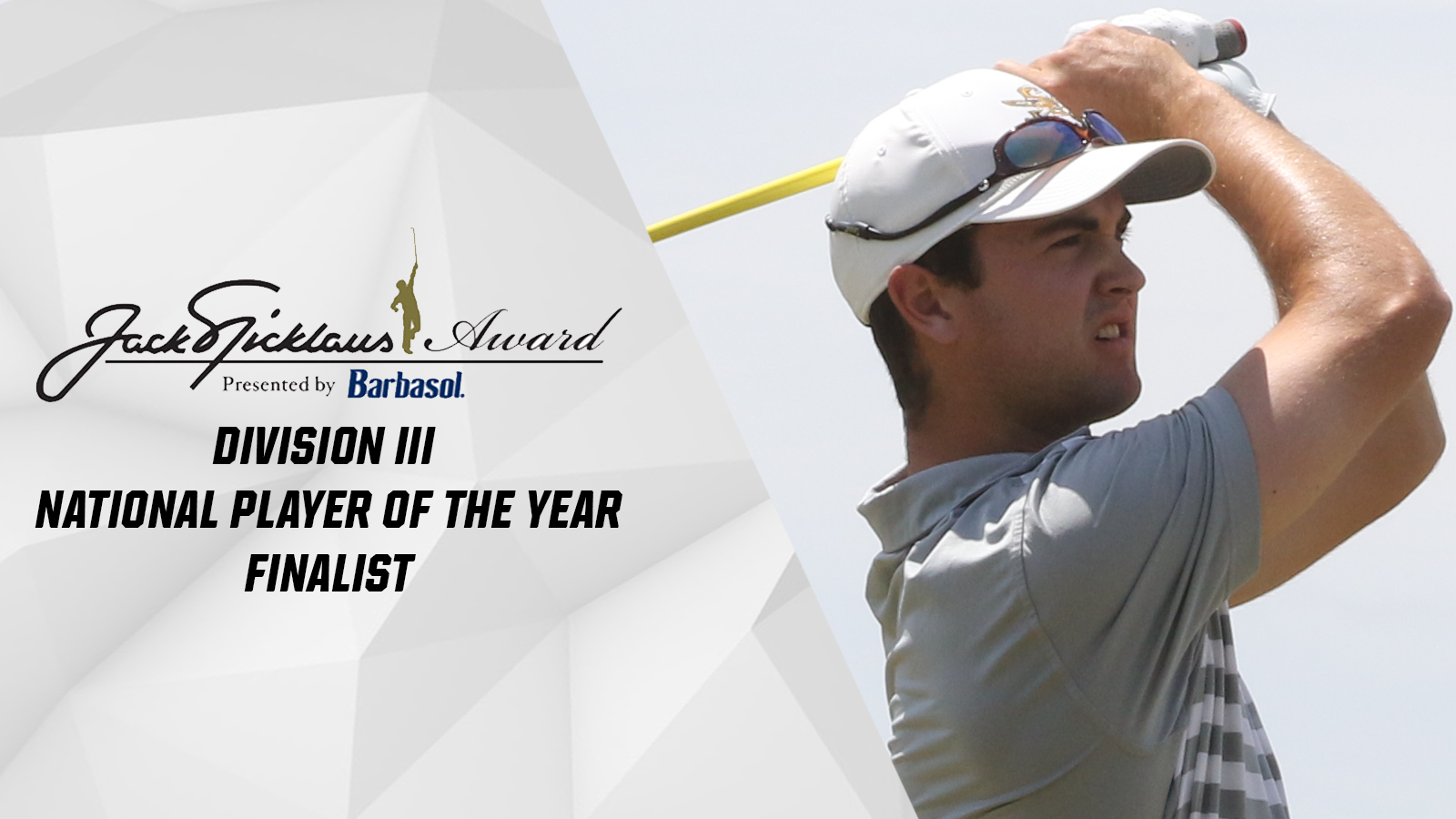 Osgood named a finalist for Division III Jack Nicklaus National Player of the Year Award