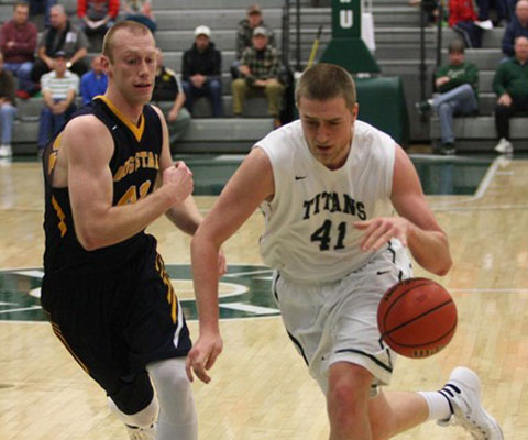 IWU's Trevor Seibring is one of five players averaging double-figures in points for the Titans.