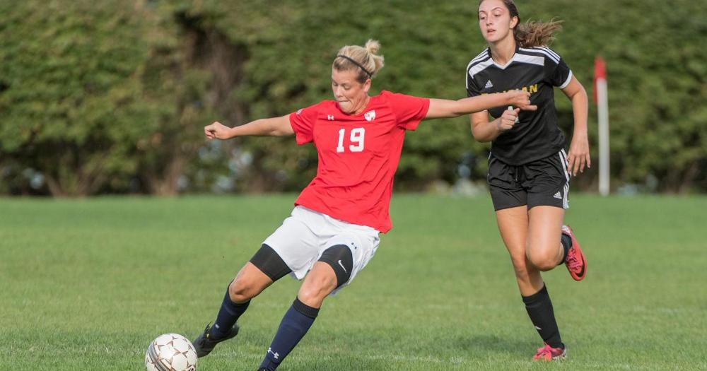 Women's Soccer cruises past Bloomfield, 3-1