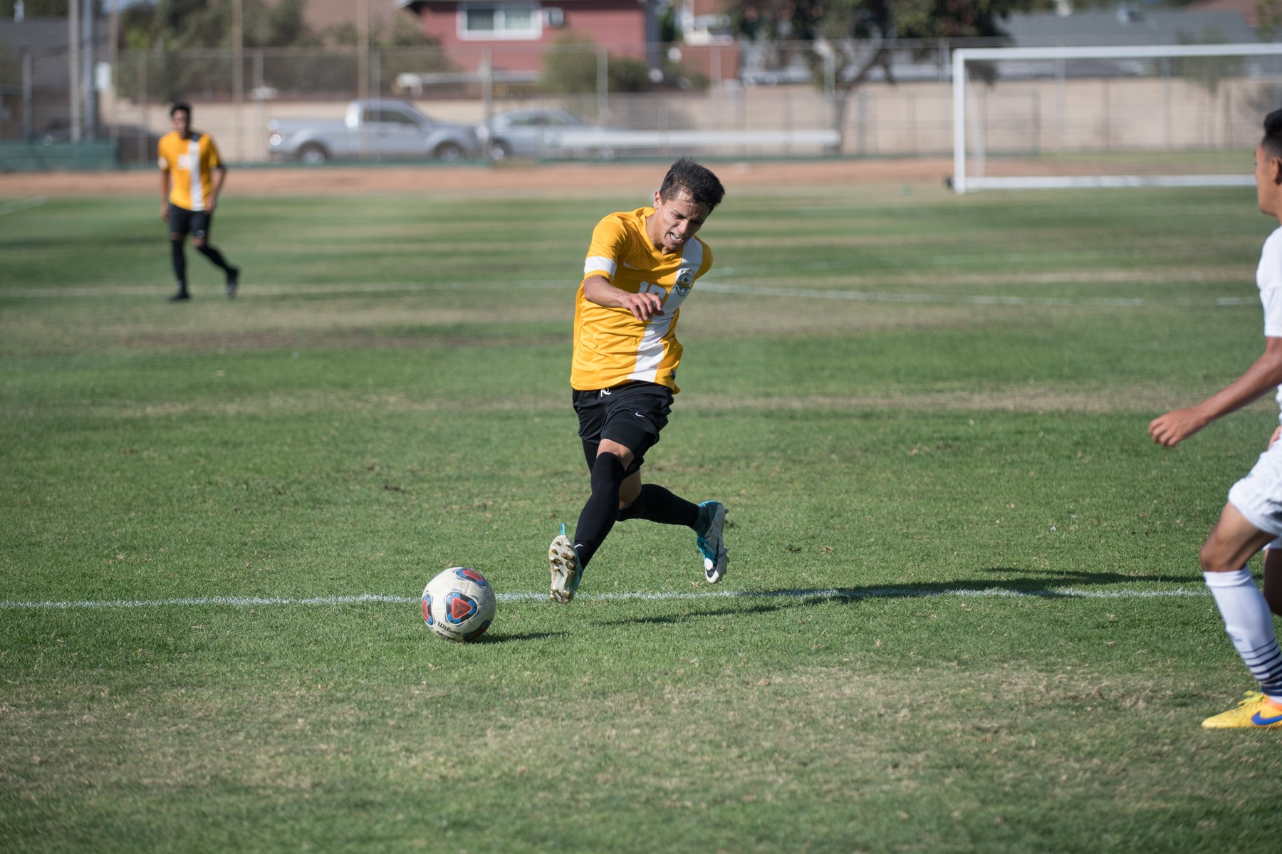M Soccer: Earns First Win on the Road