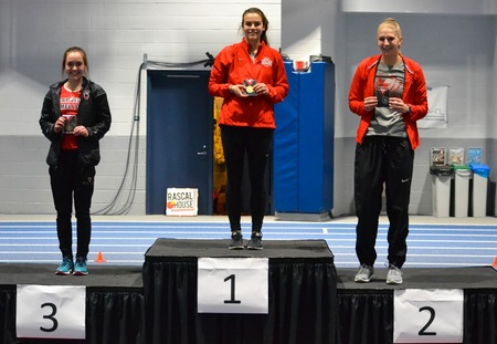 Washington University Women and Men Lead UAA Track and Field Championships After Day One
