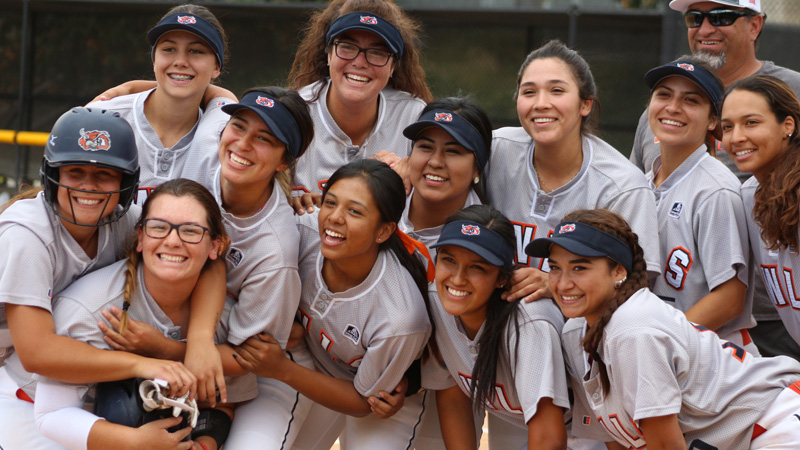 The Citrus College Softball team is in the 2017 CCCAA SoCal Playoffs for the 10th time in the last 12 years as the #10 overall seed. Photo By: Mykenna De Avila