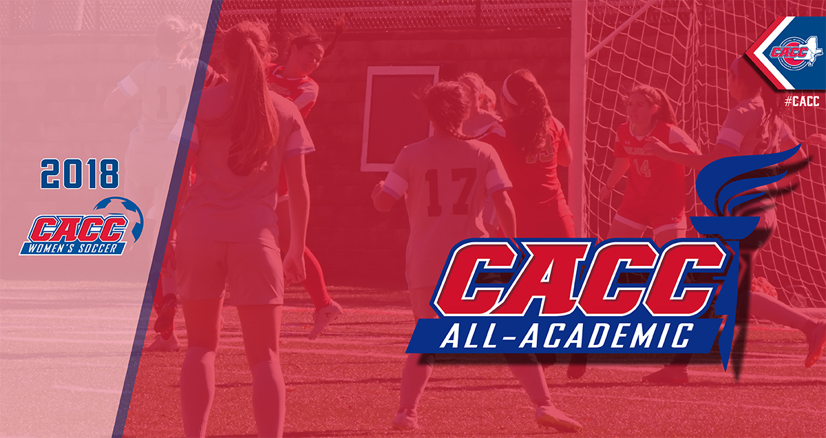 65 Student-Athletes Named to 2018 CACC Women's Soccer All-Academic Team