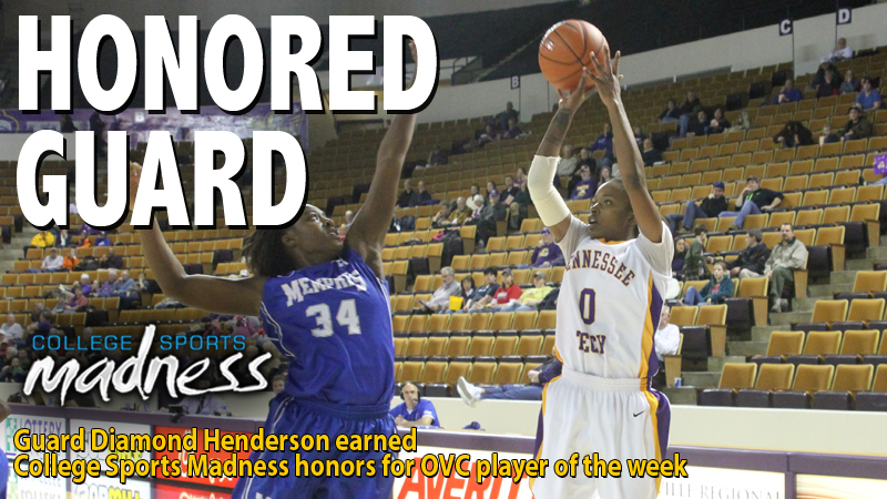 Diamond Henderson honored by College Sports Madness