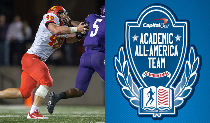 Ferris State Football's Justin Zimmer Claims Academic All-America Honors!