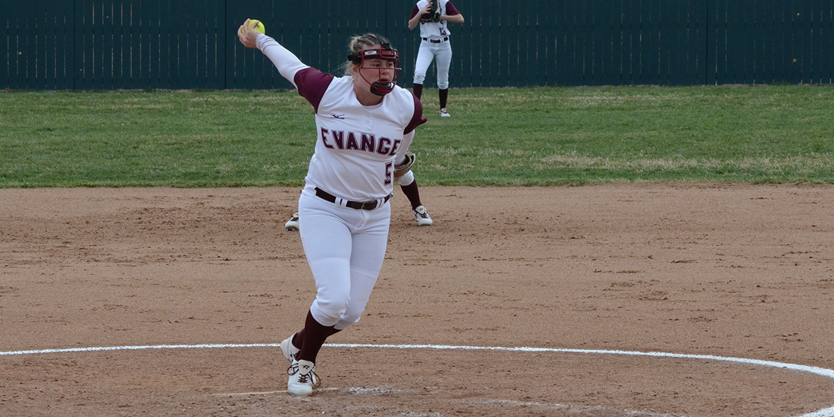 Evangel Softball Blanks MidAmerica Nazarene in Tuesday Split