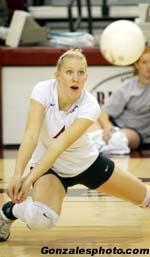 Cassie Perret Earns Sports Imports/AVCA National Player of the Week