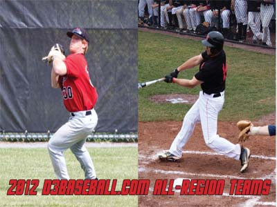 Little and Hanna named to D3Baseball.com All-Region Teams