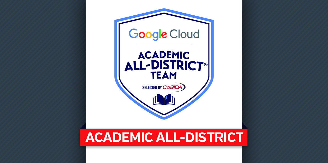 Trinity's Hagmann Earns Google Cloud Academic All-District Recognition