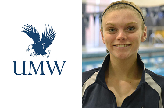 UMW's Shannon Coryell Named CAC Female Swimmer of the Week