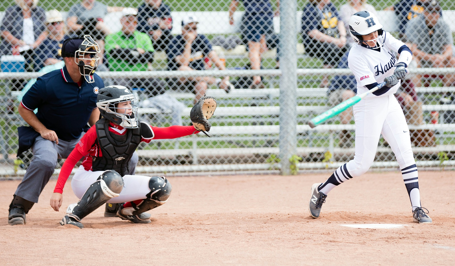 HAWKS SWEEP FANSHAWE AT NEW HOME TO OPEN 2018 SEASON