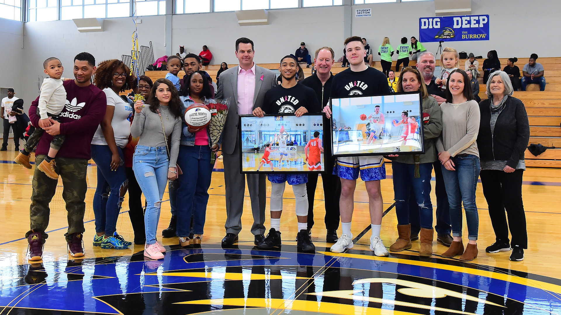 Goucher Men's Basketball Battles Moravian Tough To The End On Senior Day In 69-64 Loss