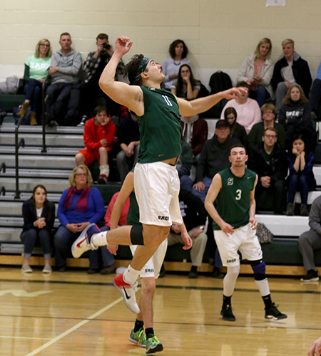 Cecchi Records Double-Double, but Sage Falls In Tri-match