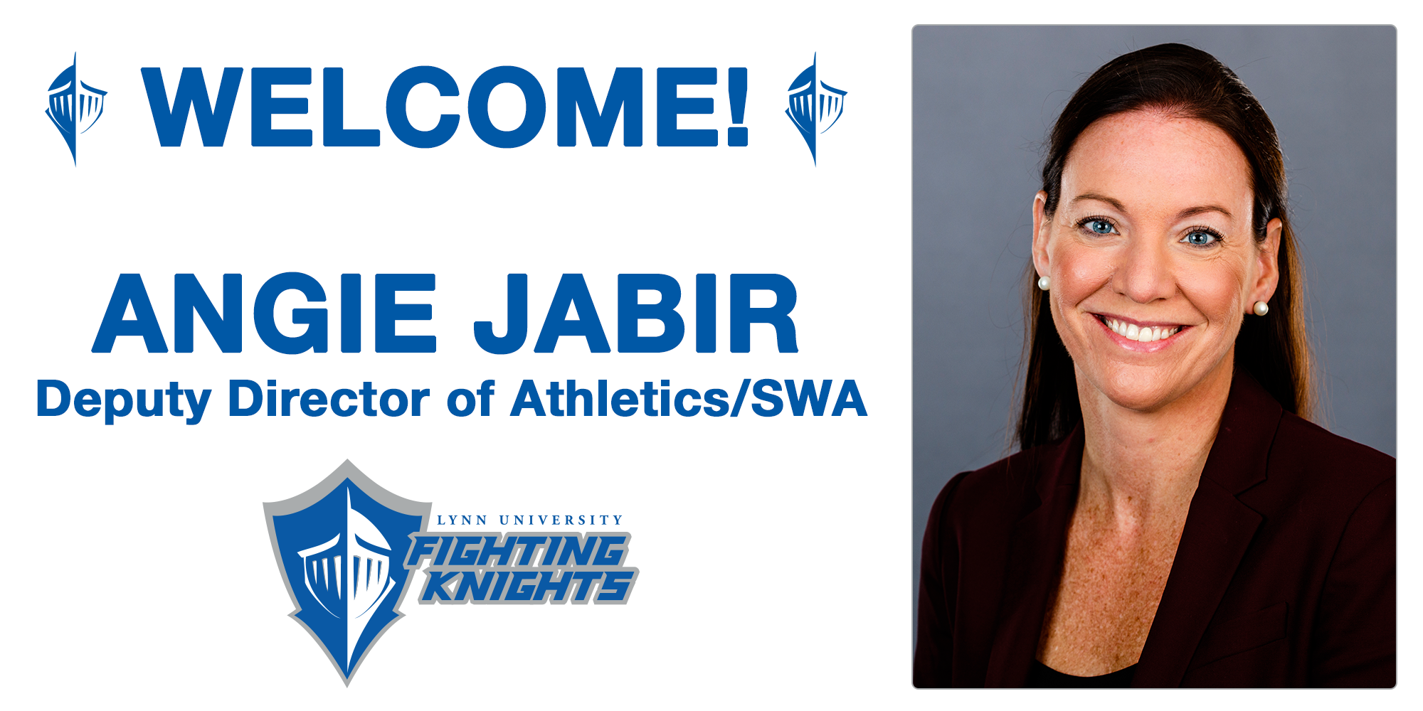 Fighting Knights Select Angie Jabir as Deputy Athletics Director/SWA