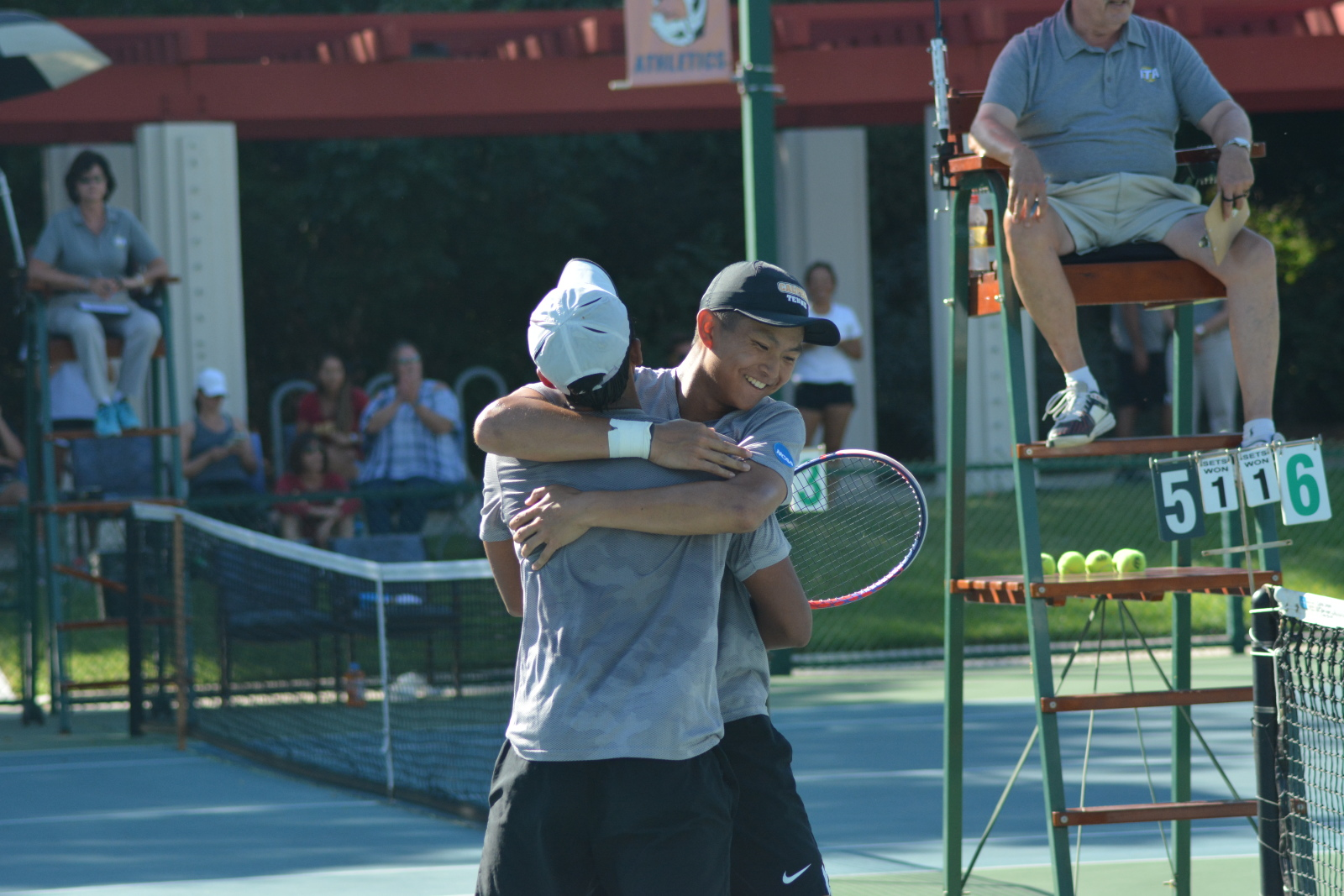 Shanker, Wei DIII's Fourth-Ranked Doubles Team