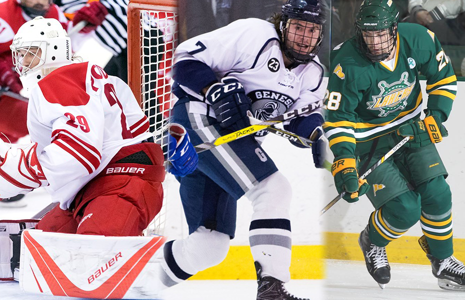 SUNYAC announces weekly awards for men's ice hockey